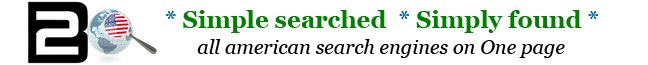 All Americans Search Engines on 1 page America Startpage WebSearch